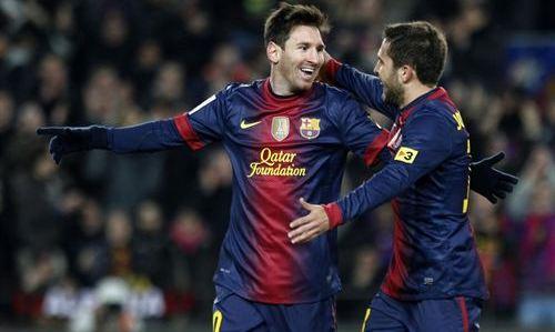 Leo Messi, mejor jugador del Mundo en 2012