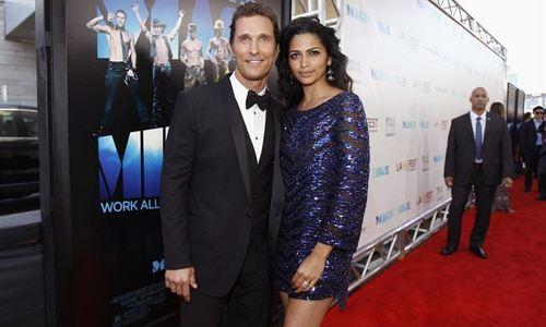 Matthew McConaughey y Camila Alves han sido padres