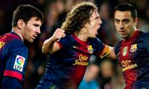 El Barça renueva de una tacada a Messi, Puyol y Xavi