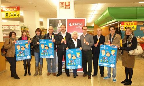 Eroski venderá puntos de libro para recaudar dinero para la infancia