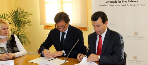 Govern y Cort cofinancian la pasarela sobre el tren en Can Foradí