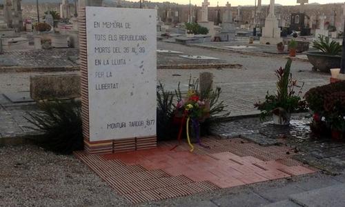 Atentado contra el Memorial Republicano de Montuïri