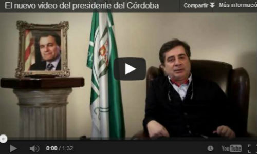 El presidente del Córdoba reta a Artur Mas