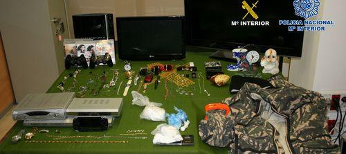 Detienen a cuatro magrebíes por robos con violencia e intimidación