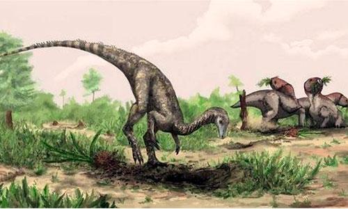 El primer dinosaurio era como un perro pero con cinco metros de cola