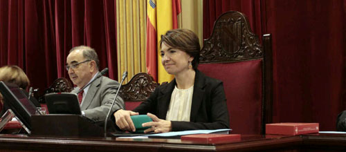 Margalida Durán ya es la segunda autoridad política de Baleares