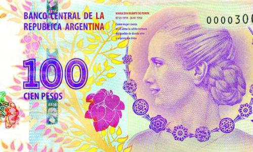 ADELANTO Nadie quiere los billetes con la cara de Eva Perón