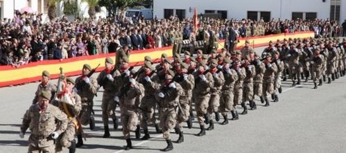 La Comandancia General celebra la festividad de la Patrona de Infantería