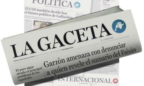 Una periodista pide el concurso de acreedores del diario 'La Gaceta'
