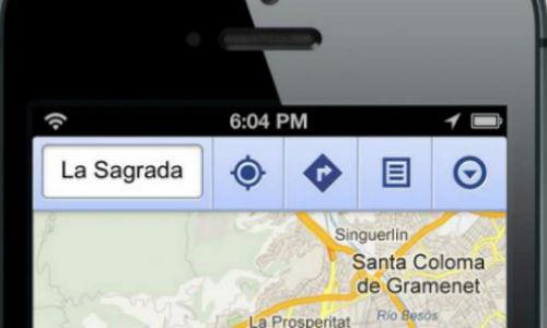 Los mapas de Google vuelven al Iphone