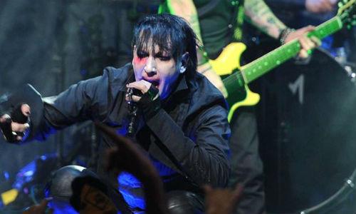 Marilyn Manson termina herido en una pelea