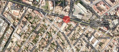 Sofocado el incendio de un piso en la barriada de Son Espanyolet