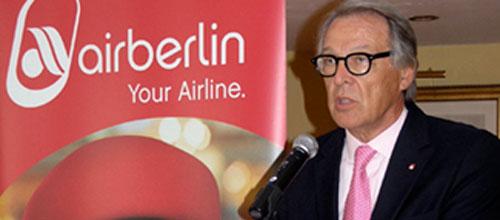 Air Berlin pierde un 5,4% de pasajeros en el último año