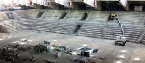El Palacio de Deportes estará operativo a finales de verano