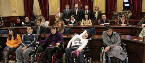 Bauzá pide perdón a las asociaciones de discapacitados