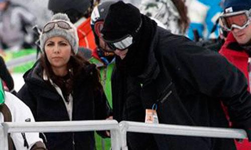 Ana Pastor y su marido, dos amantes del snowboard