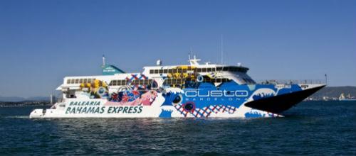 Baleària creará una nueva línea marítima entre Miami y Bimini