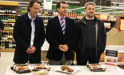 Eroski comercializará porciones individuales de lechona confitada