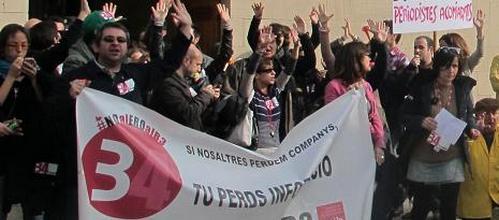 Despedidos 16 periodistas de IB3 tras un acuerdo de último minuto