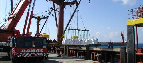 Fuerte aumento en el desembarco de mercancías en el puerto de Palma