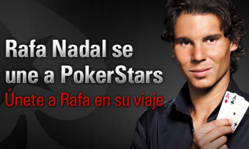 Rafa Nadal se estrena como jugador de póker