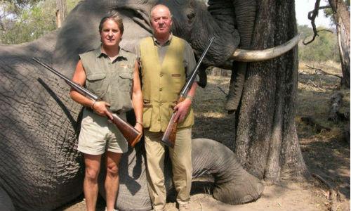 El Rey ya no cazará elefantes en Botsuana