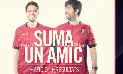 'Suma un amic', nueva campaña de socios del Mallorca