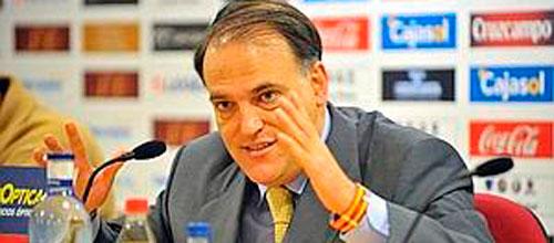 Javier Tebas legisla, ejecuta y juzga en el fútbol español