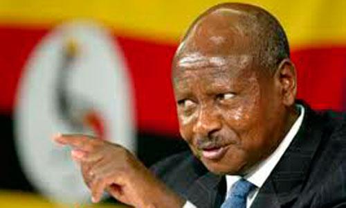 El presidente de Uganda, en contra de