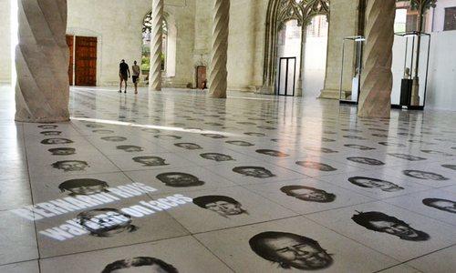La exposición de Roig en la Llotja recibe un récord histórico de visitantes