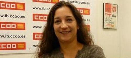 Katiana Vicens se presenta a la reelección como secretaria de CCOO
