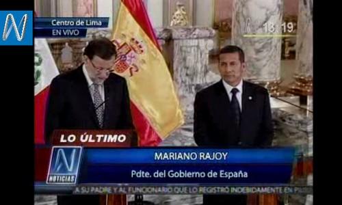Mariano Rajoy confunde Perú con Cuba