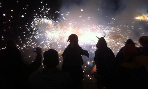 Sant Antoni también se celebra en el barrio de Gracia