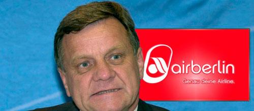 Cesa el presidente de Air Berlin en plena crisis de la compañía