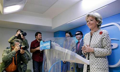 Esperanza Aguirre ficha por una empresa catalana