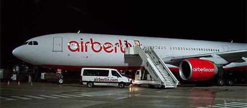 Air Berlin vuelve a perder pasajeros