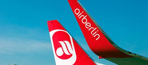 Air Berlin planea reducir un 5% el sueldo de sus trabajadores