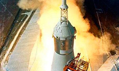 El motor del Apolo XI todavía funciona
