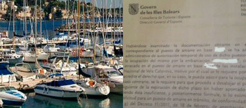 Rebelión en Cala Nova ante la amenaza de desalojo del Govern