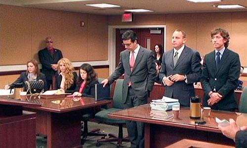Paulina y Colate, tensión en los juzgados