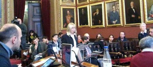 Isern admite que no han encontrado mejor solución que la importación de residuos