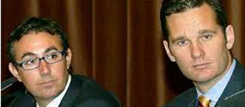 El Juez impone fianza civil de 8,1 millones para Torres y Urdangarin