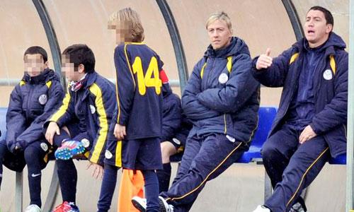 La vuelta al fútbol de Guti