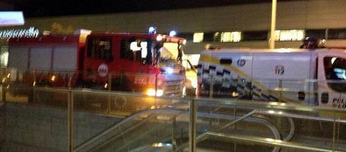 La Policía desaloja el Metro