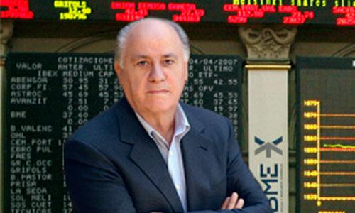 Amancio Ortega, el rico que más incrementó su fortuna en 2012