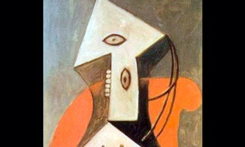 Detenido el hombre que arruinó un cuadro de Picasso dibujando encima