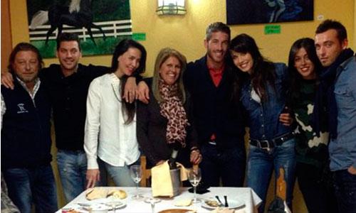Sergio Ramos, noche de Reyes con Pilar Rubio