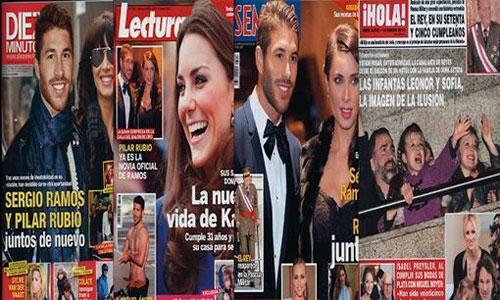 Sergio Ramos y Pilar Rubio, juntos de nuevo