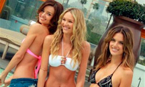 Los ángeles de Victoria's Secret se ponen el bikini