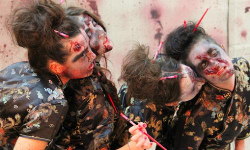 Construyen un refugio anti-zombis en Cataluña